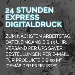 24 Stunden Express Digitaldruck